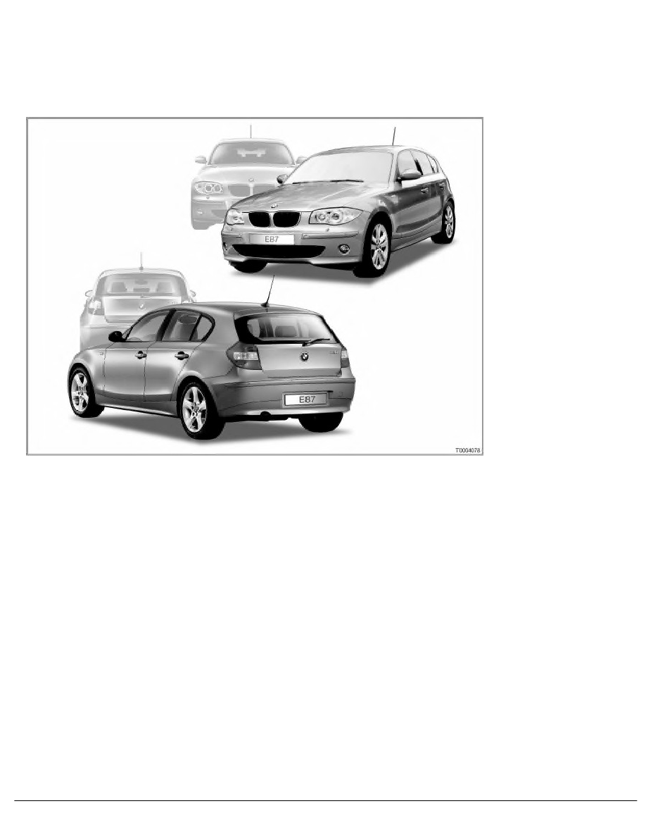 BMW Workshop Manuals > 1 Series E87 120d (M47T2) 5-door