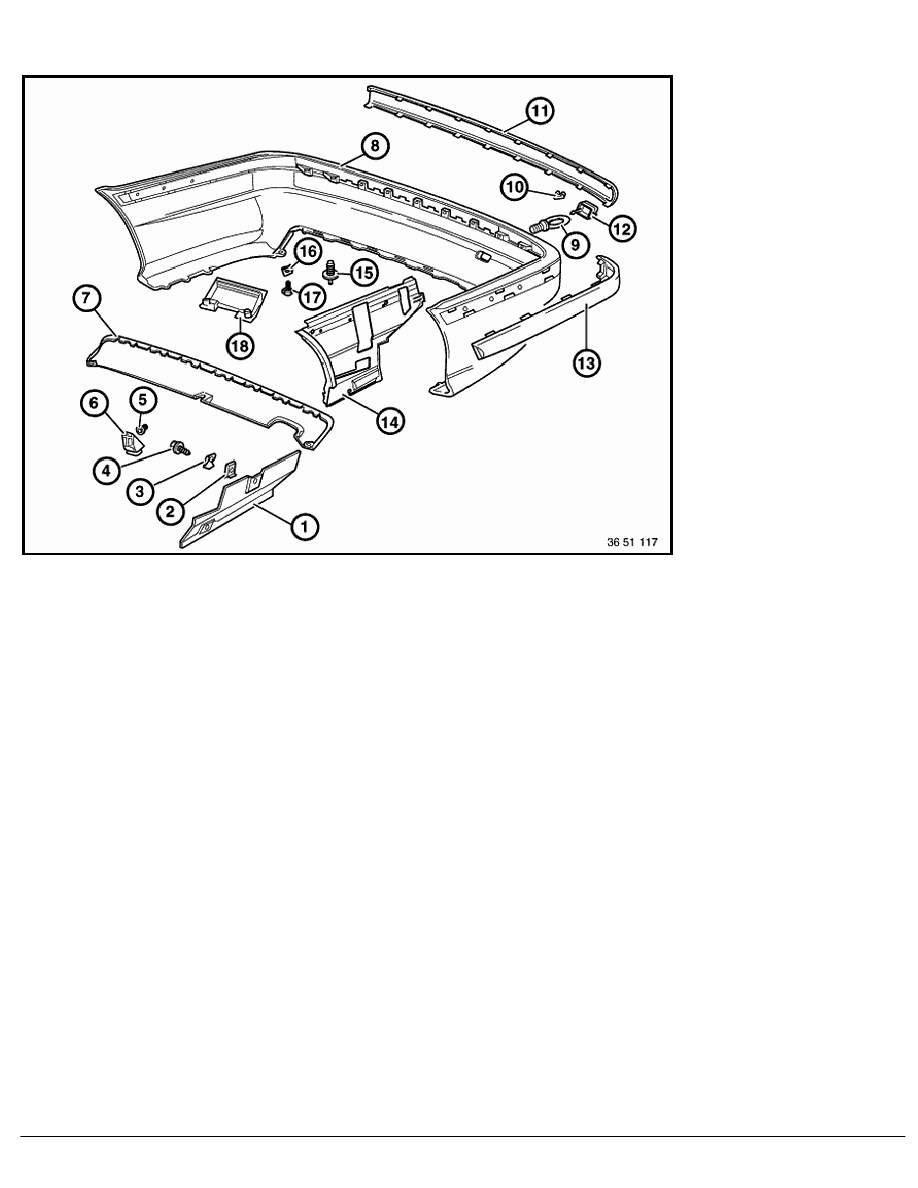 BMW Workshop Manuals > 3 Series E36 316i (M40) SAL > 2