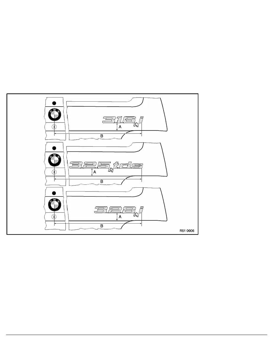 BMW Workshop Manuals > 3 Series E36 316i (M43) TOUR > 2