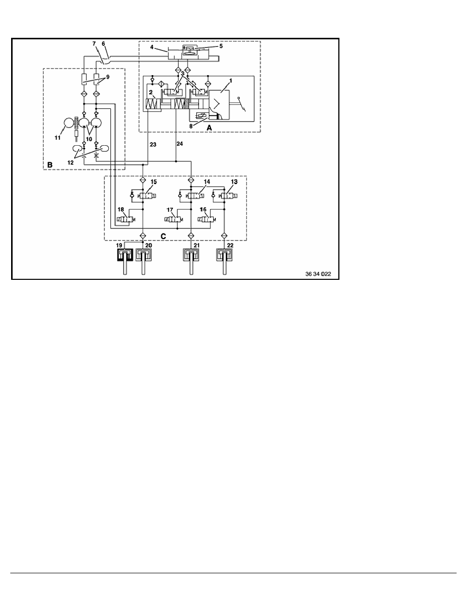 medium resolution of 2 repair instructions 34 brakes 50 slip control systems abs asc 2 ra teves mark iv 3 abs hydraulic wiring diagram