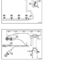 2 repair instructions 61 general electrical system 11 wiring harness 2 ra replacing section of engine wiring harness m42 page 2216 [ 918 x 1188 Pixel ]