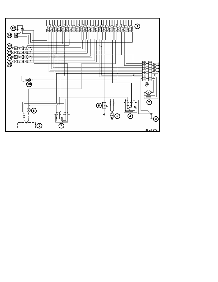 medium resolution of 2 repair instructions 61 general electrical system 12 auxiliary cable 1 ra abs wiring diagram