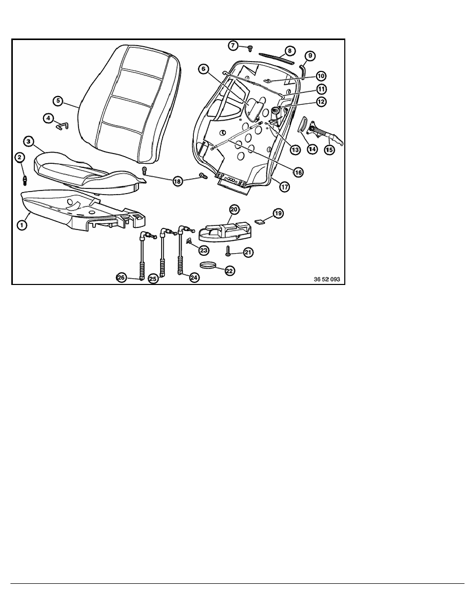 BMW Workshop Manuals > 3 Series E36 320i (M52) CONVER > 2