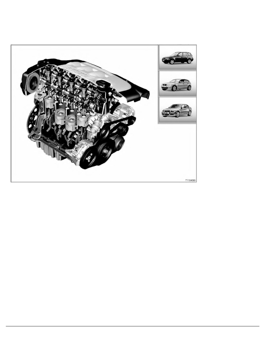 BMW Workshop Manuals > 3 Series E90 320d (M47T2) SAL > 6