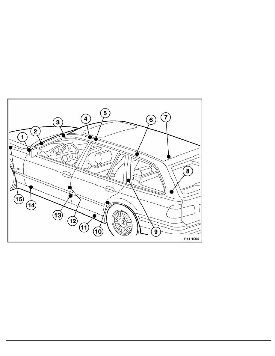 BMW Workshop Manuals > 5 Series E39 530d (M57) TOUR > 2