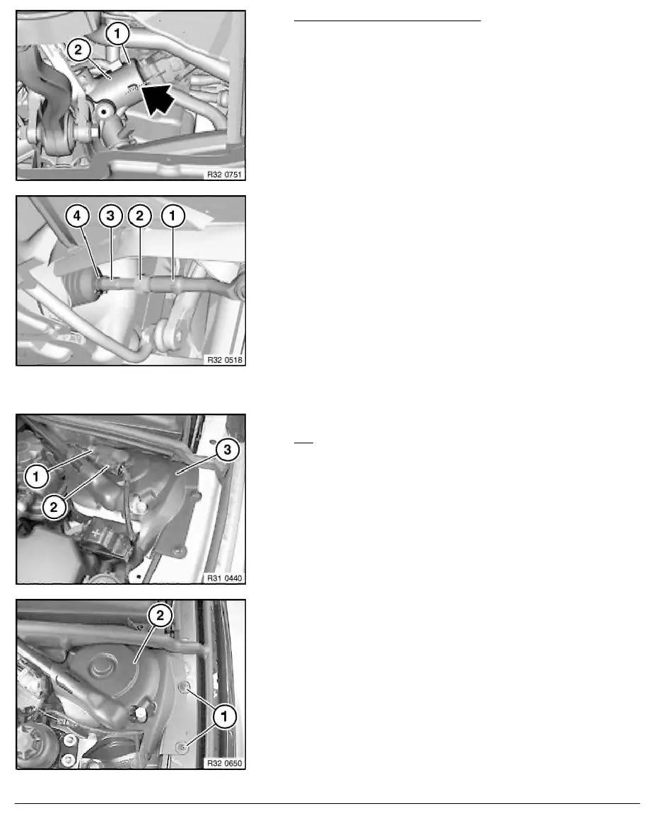 BMW Workshop Manuals > 5 Series E60 545i (N62) SAL > 2 Repair Instructions > 32 Steering And