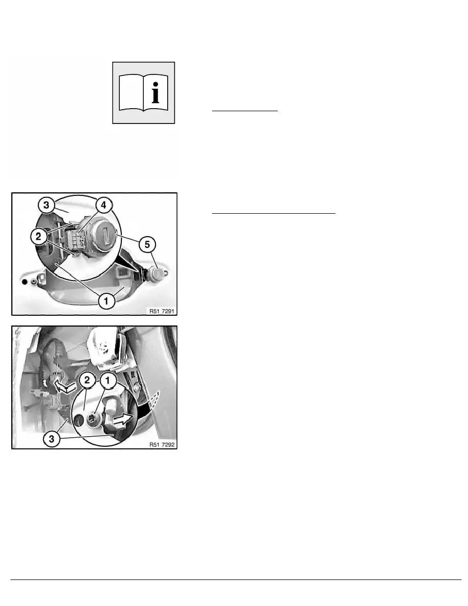 BMW Workshop Manuals > 5 Series E61 525d (M57T2) TOUR > 2