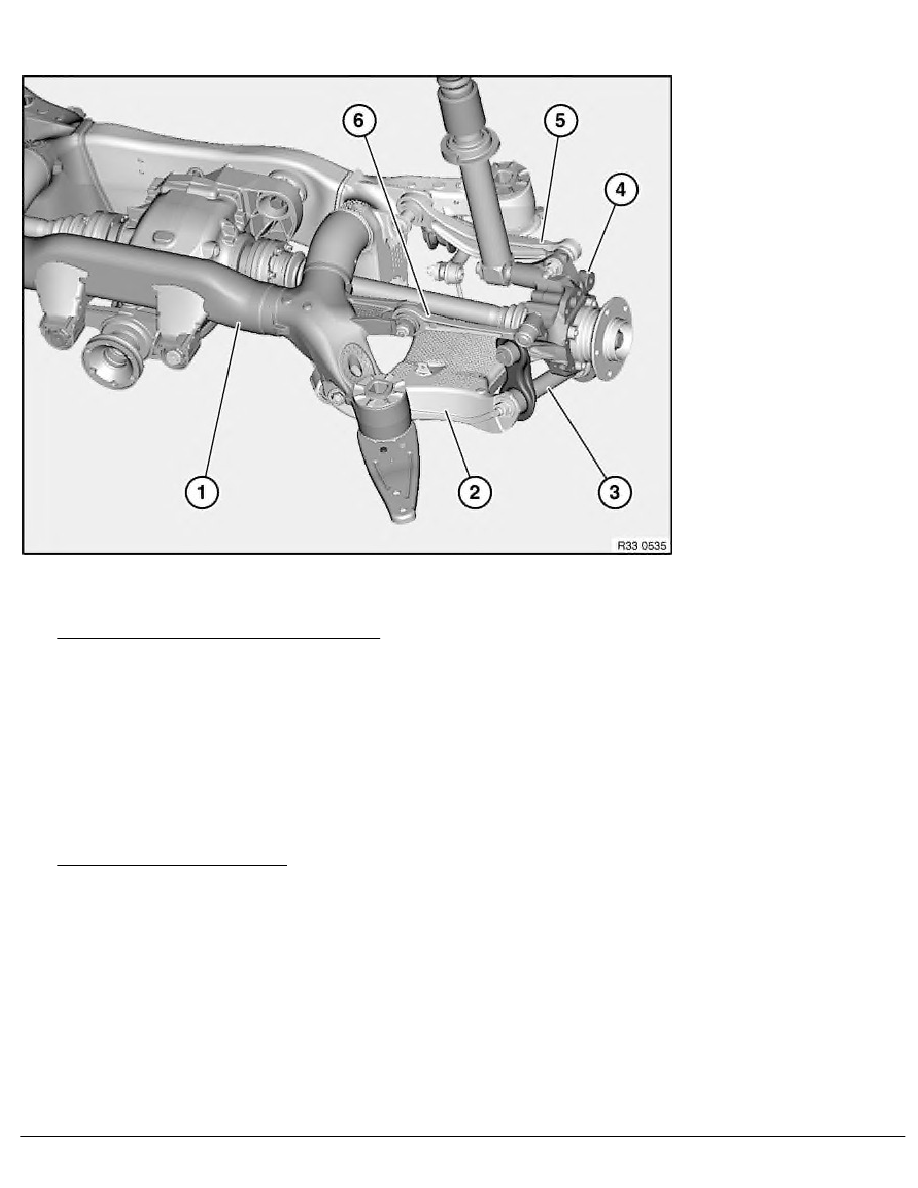 BMW Workshop Manuals > X Series E53 X5 3.0d (M57) OFFRD