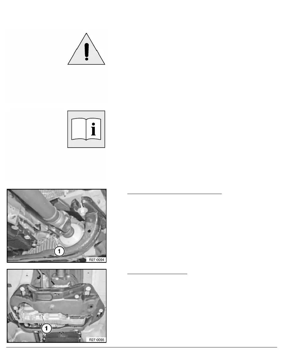 BMW Workshop Manuals > X Series E70 X5 4.8i (N62TU) OFFRD > 2 Repair Instructions > 27 Transfer