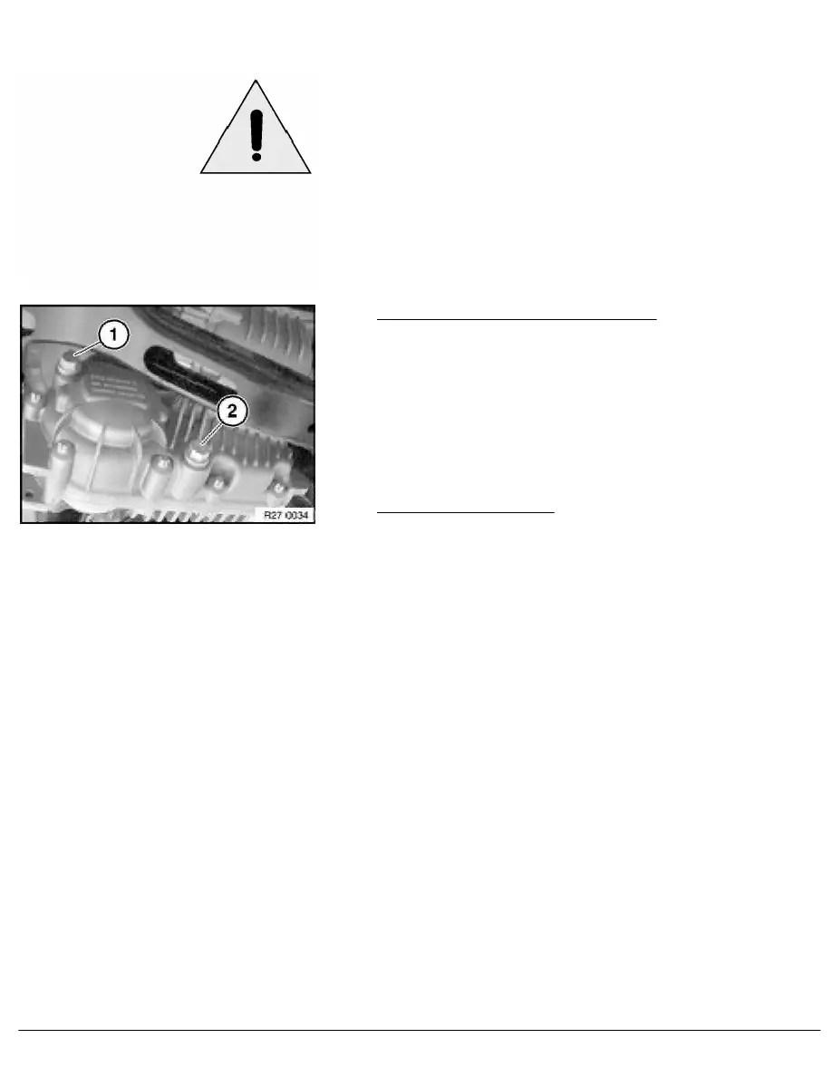 BMW Workshop Manuals > X Series E83 X3 2.0d (M47T2) OFFRD