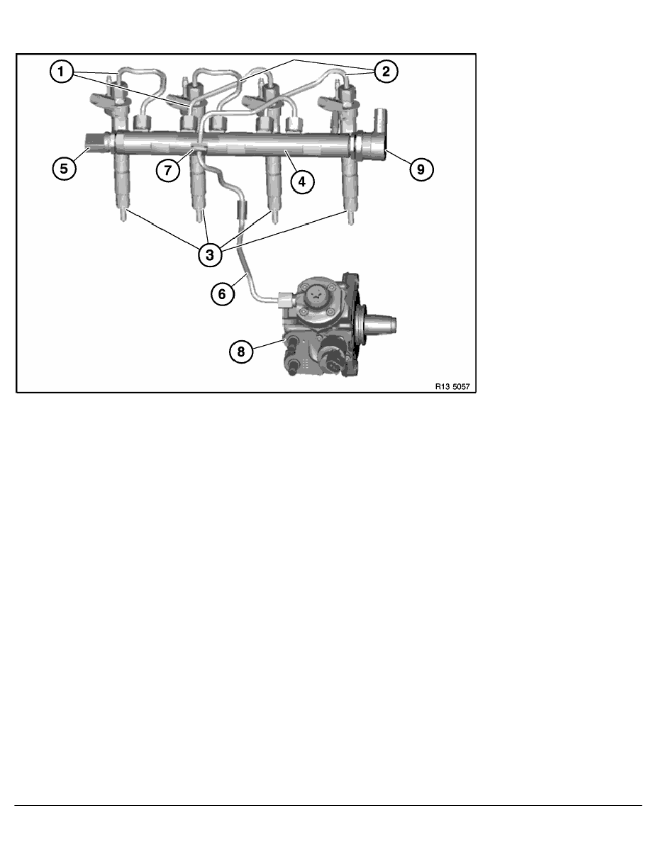 BMW Workshop Manuals > X Series E83 X3 2.0d (N47) OFFRD