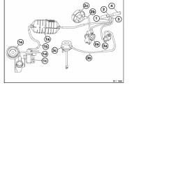 2 repair instructions 11 engine m57tu 74 el valve for exh gas recirculation 1 ra layout of vacuum hoses m47 m57tu  [ 918 x 1188 Pixel ]