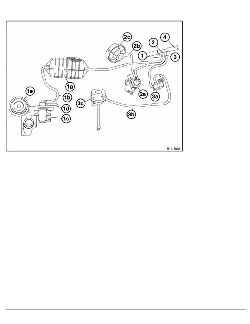 small resolution of 2 repair instructions 11 engine m57tu 74 el valve for exh gas recirculation 1 ra layout of vacuum hoses m47 m57tu