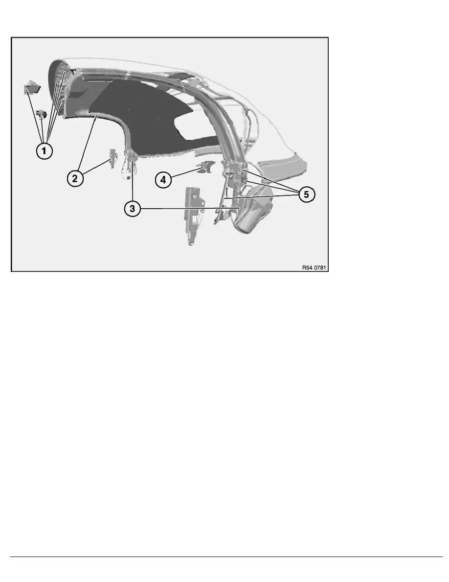 BMW Workshop Manuals > Z Series E85 Z4 2.5i (M54) ROADST