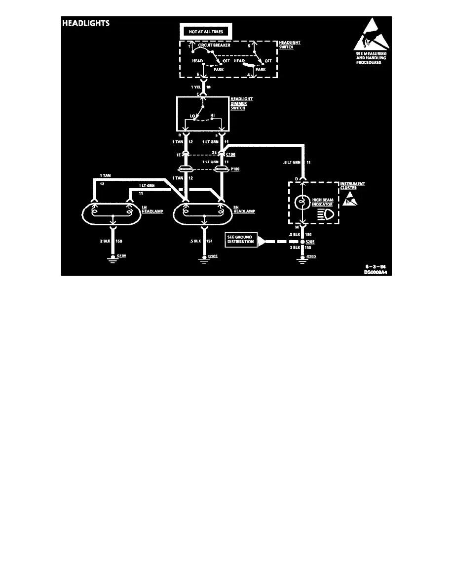 1996 Chevy Corsica Wiring Diagram 1996 Circuit Diagrams