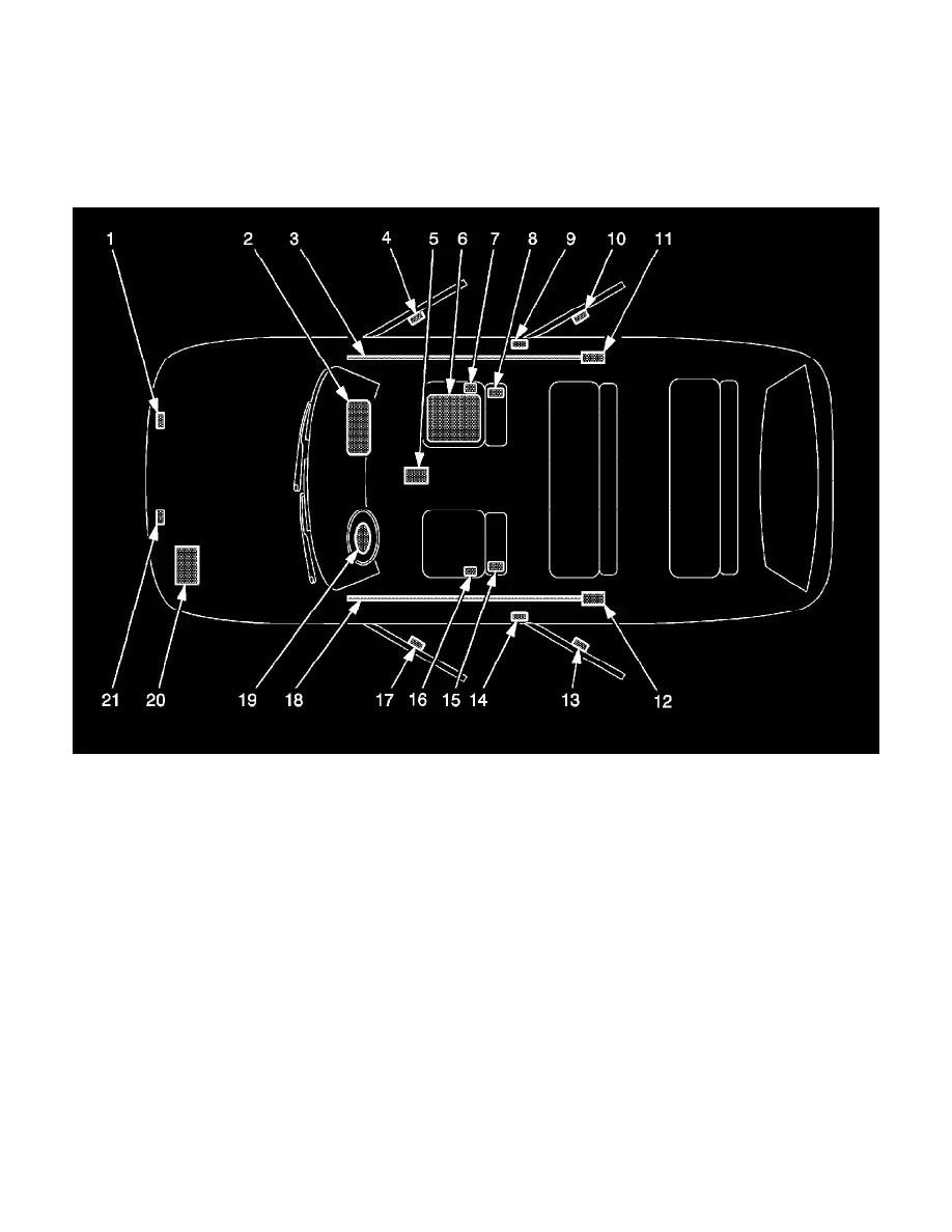 medium resolution of background image air bag control module locations sir identification views