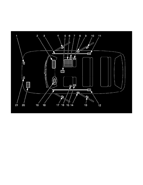 small resolution of background image air bag control module locations sir identification views