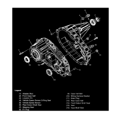 transmission and drivetrain transfer case component information diagrams transfer case bw 4473 np3 page 5124 [ 918 x 1188 Pixel ]