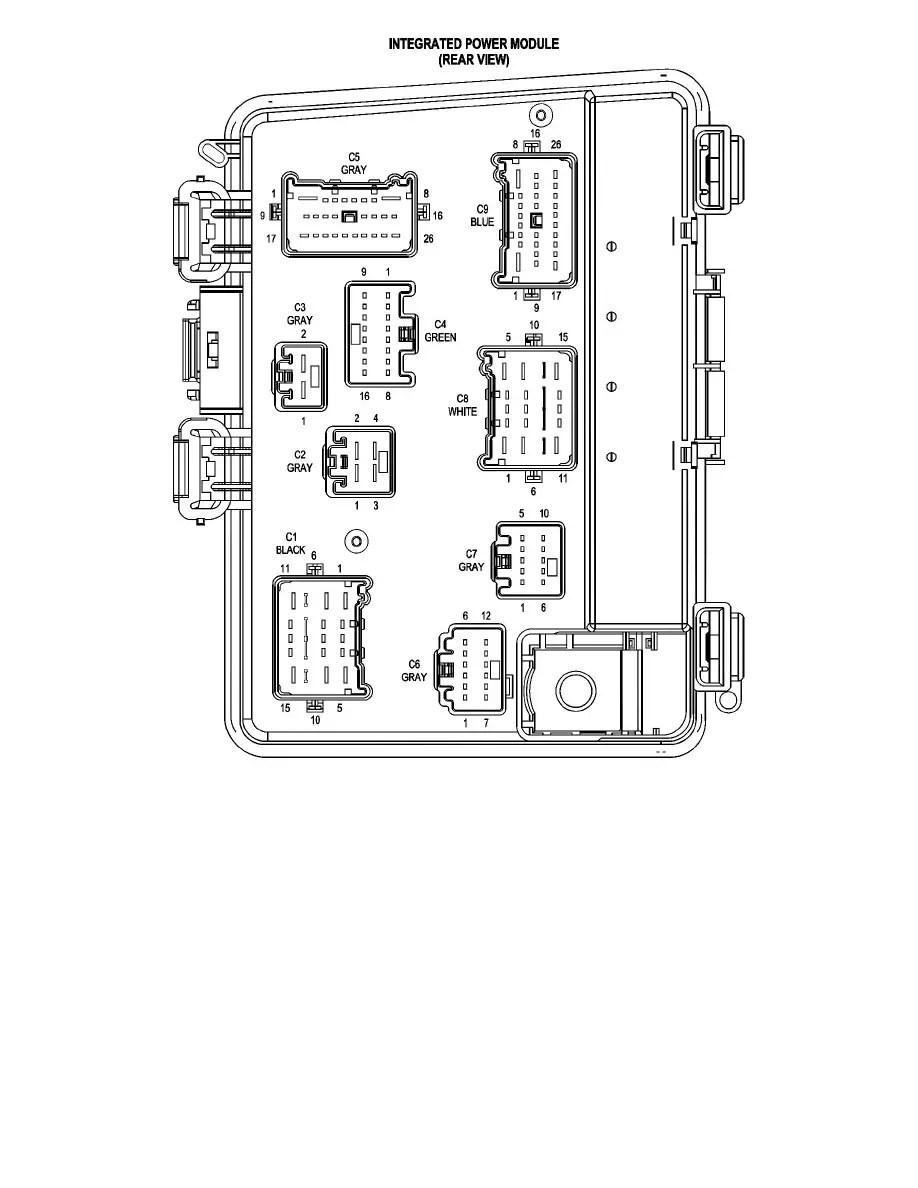 Chrysler Workshop Manuals > Pacifica V6-3.8L VIN L (2005