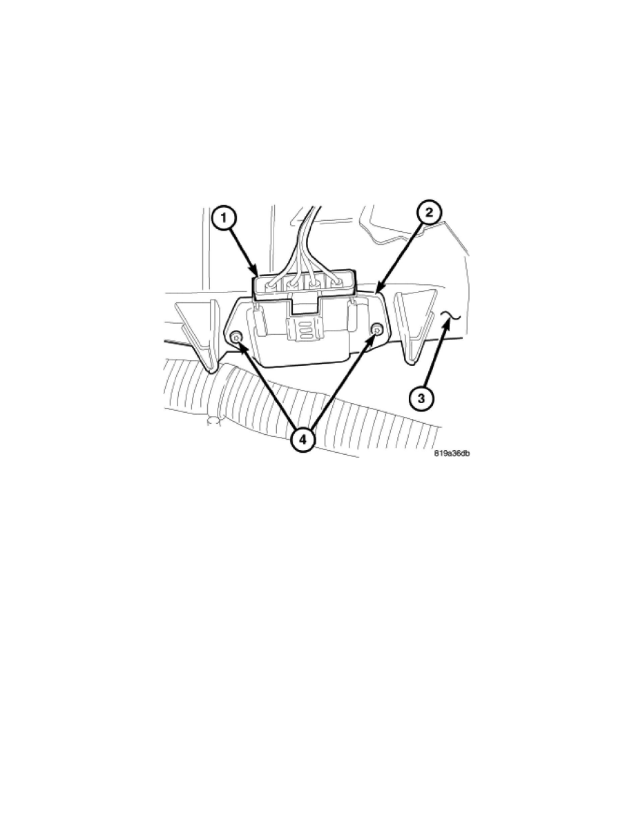 Chrysler Workshop Manuals > Sebring Sedan L4-2.4L (2007