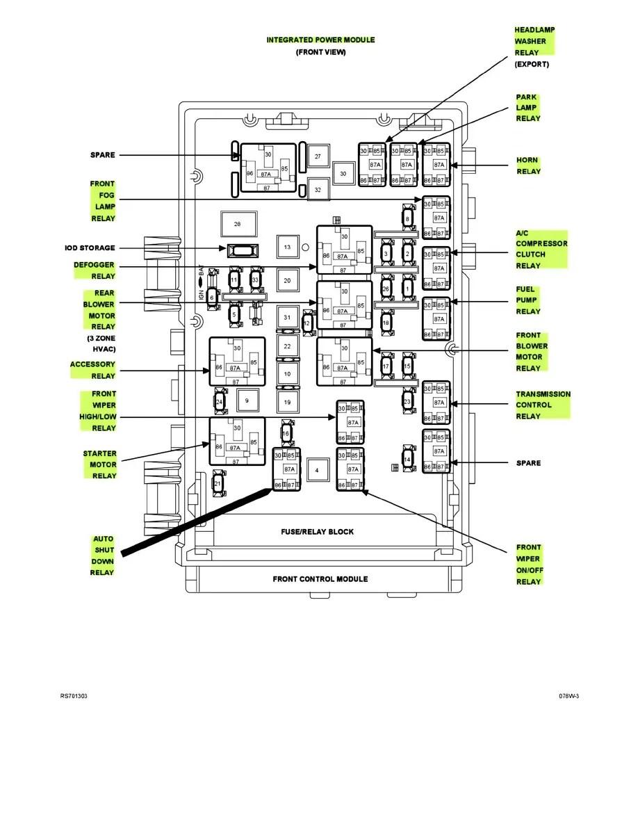 Chrysler Workshop Manuals > Town & Country V6-3.8L VIN L
