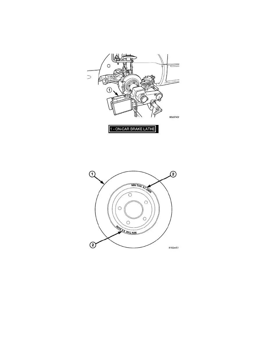 Dodge Workshop Manuals > Avenger L4-2.4L (2009) > Brakes