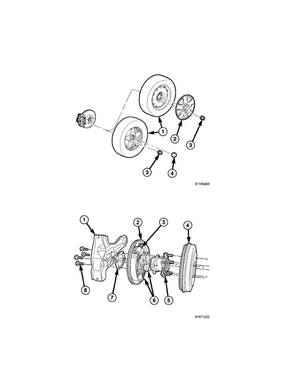 Dodge Workshop Manuals > Avenger V6-2.7L (2008) > Brakes