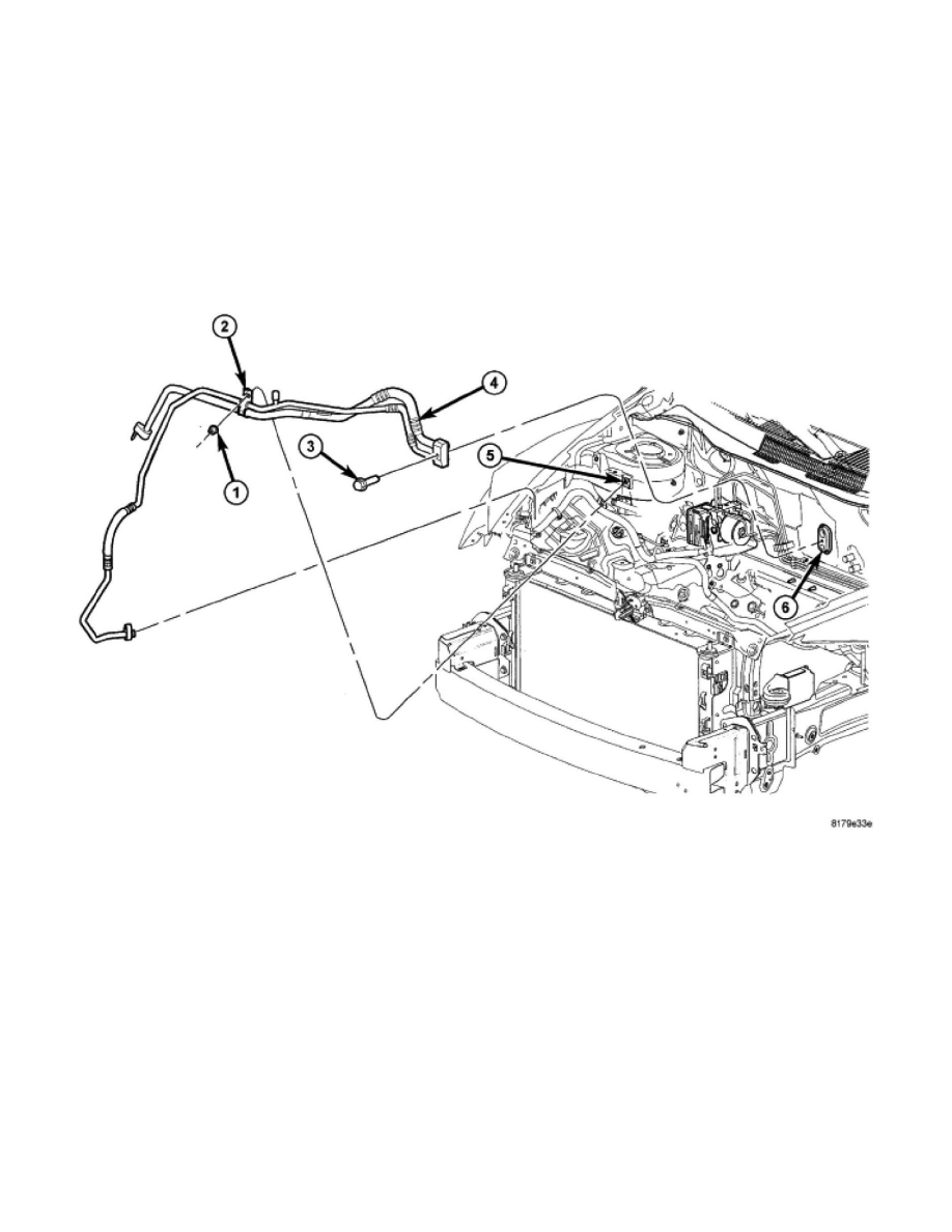 Dodge Workshop Manuals > Caliber SRT-4 L4-2.4L Turbo VIN F (2007) > Maintenance > Hoses > Hose