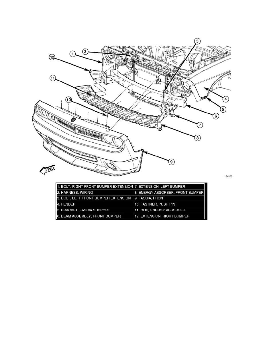 Dodge Workshop Manuals > Challenger V8-5.7L (2010) > Body