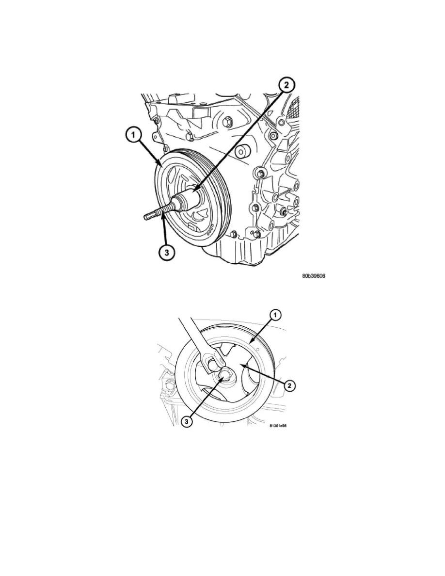 Dodge Workshop Manuals > Charger V6-2.7L (2008) > Engine