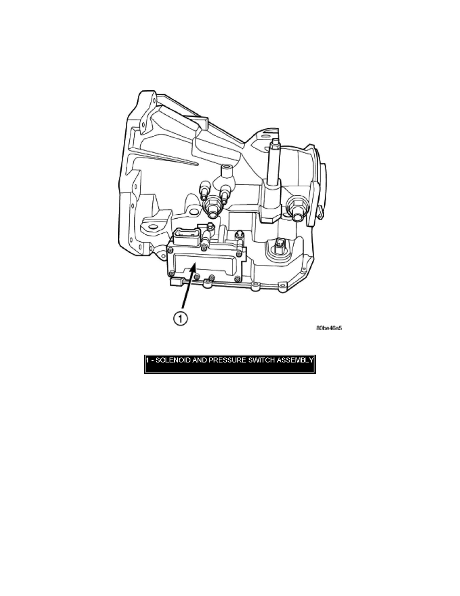 Dodge Workshop Manuals > Grand Caravan V6-3.8L VIN L (2007