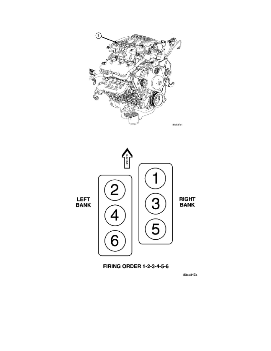 [WRG-3124] V8 Engine Firing Order Diagram