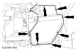 vidange boite de vitesse sur Fiesta 1.0 L ecoboost