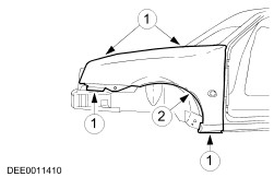 Ford Workshop Manuals > Ikon 1999 (01.2000-) > Body and