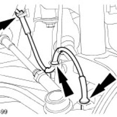 Ford Ka Front Suspension Diagram 2000 Chevy S10 Tail Light Wiring Workshop Manuals 1997 09 1996 Mechanical Repairs 2 Detach The Wheel Speed Sensor Harness From Clips