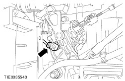 Ford fiesta reverse light switch location