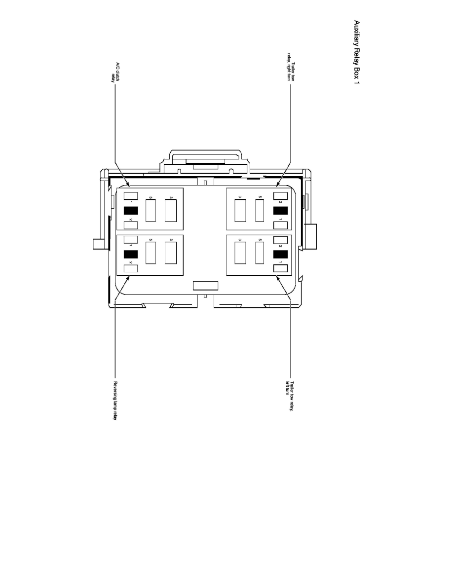 Ford Workshop Manuals > E 350 V10-6.8L (2007) > Relays and