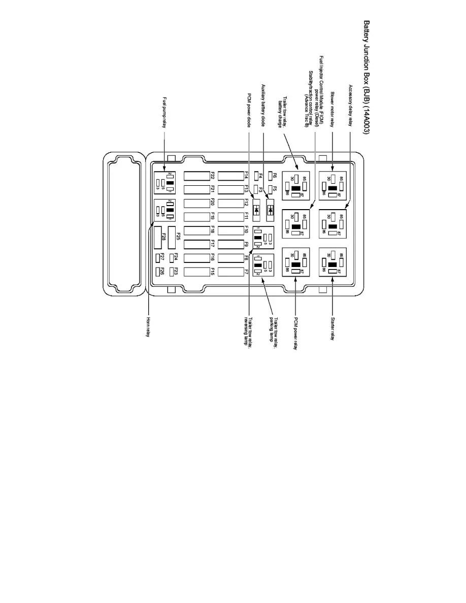 Ford Workshop Manuals > E 450 V8-6.0L DSL Turbo (2007