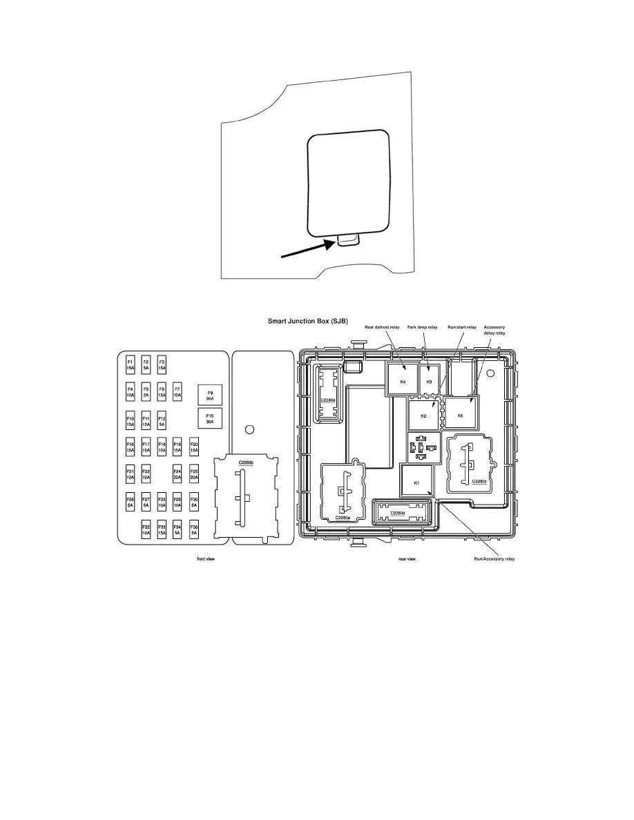 Ford Workshop Manuals > Escape 2WD L4-2.3L VIN Z (2005