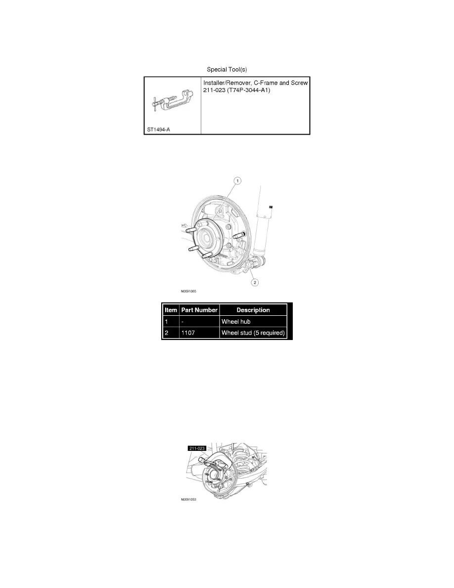 Ford Workshop Manuals > Escape 2WD V6-3.0L (2009