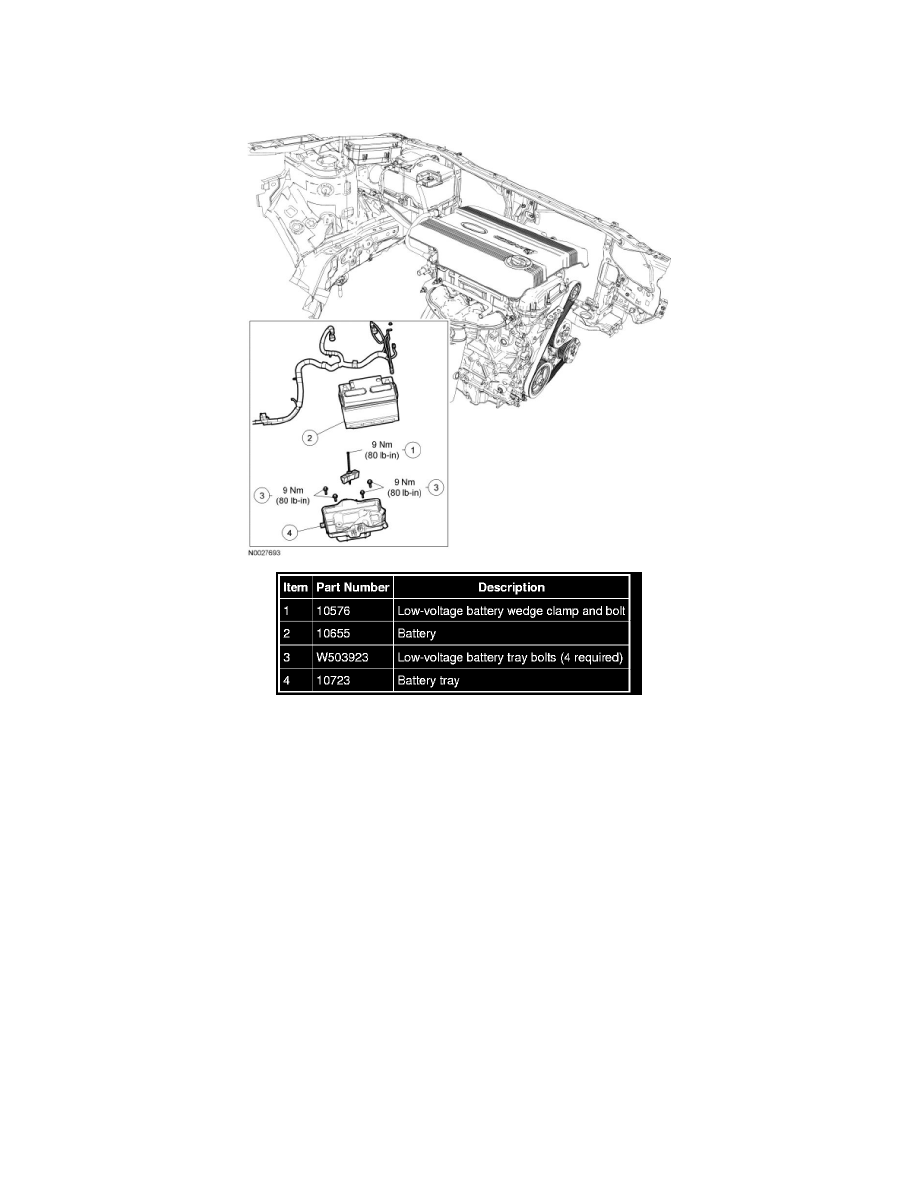 Ford Workshop Manuals > Escape 4WD L4-2.5L Hybrid (2009