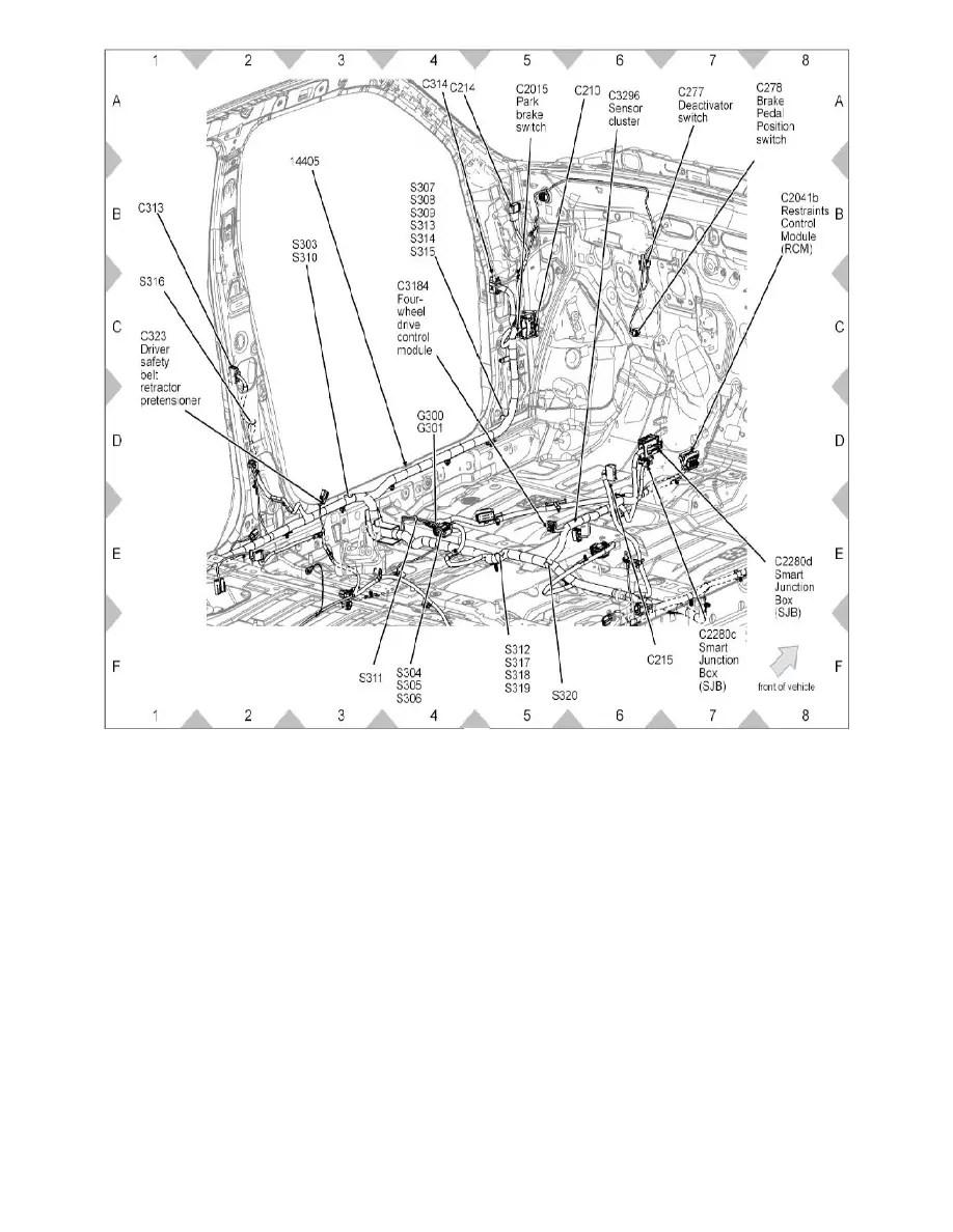 Ford Workshop Manuals > Escape 4WD V6-3.0L (2008