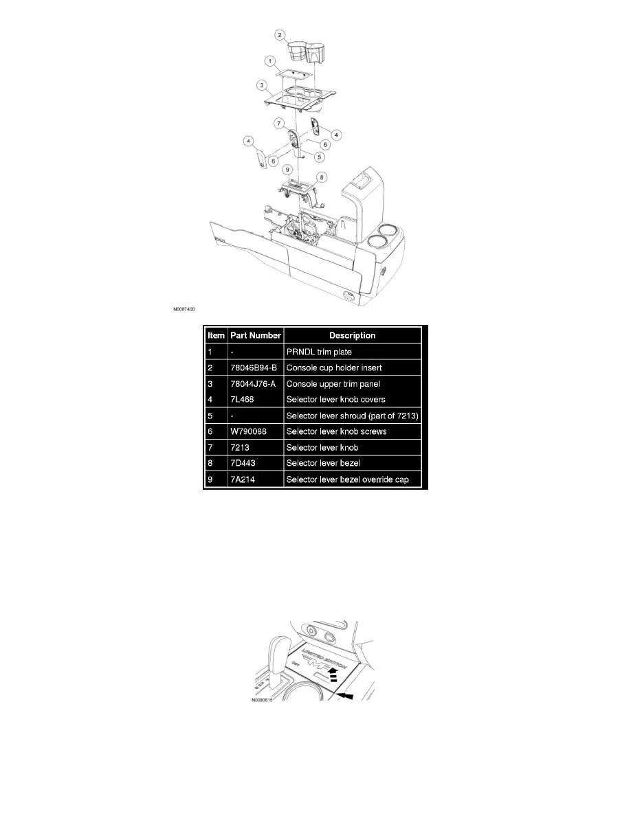 Ford Workshop Manuals > Expedition 2WD V8-5.4L (2009