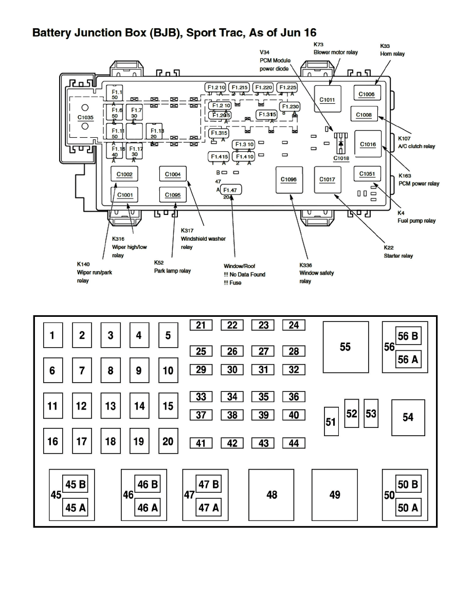 Ford Workshop Manuals > Explorer Sport Trac 4WD V6-245 4