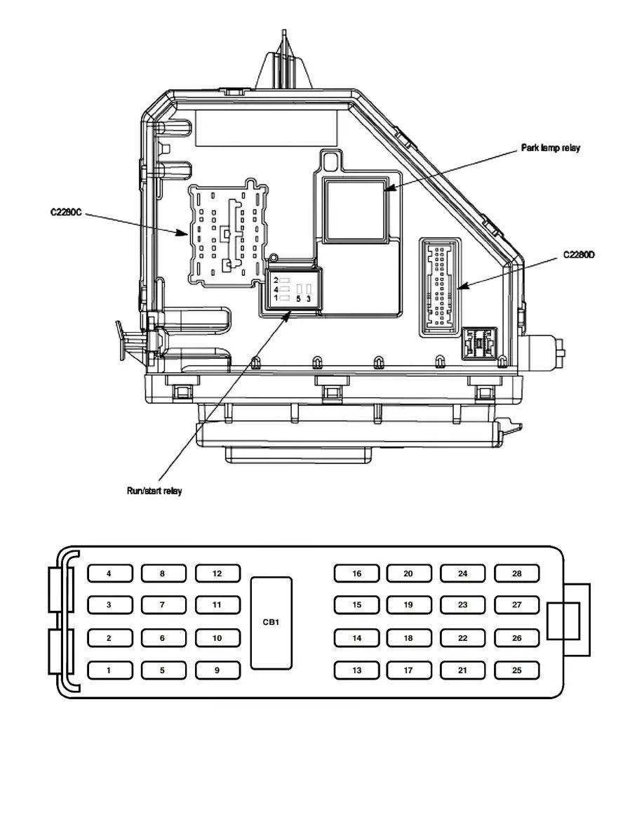 2005 explorer interior fuse box diagram