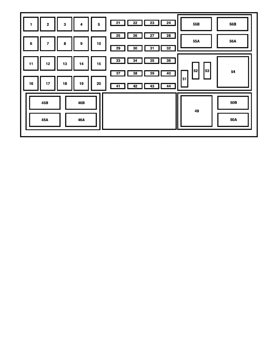 hight resolution of relays and modules relays and modules power and ground distribution relay box component information locations passenger compartment fuse panel