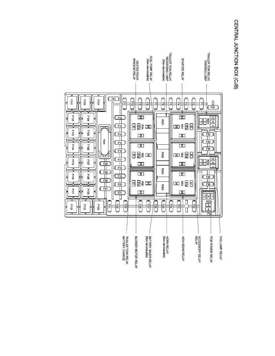 Ford Workshop Manuals > F 150 4WD V8-4.6L (2008) > Relays