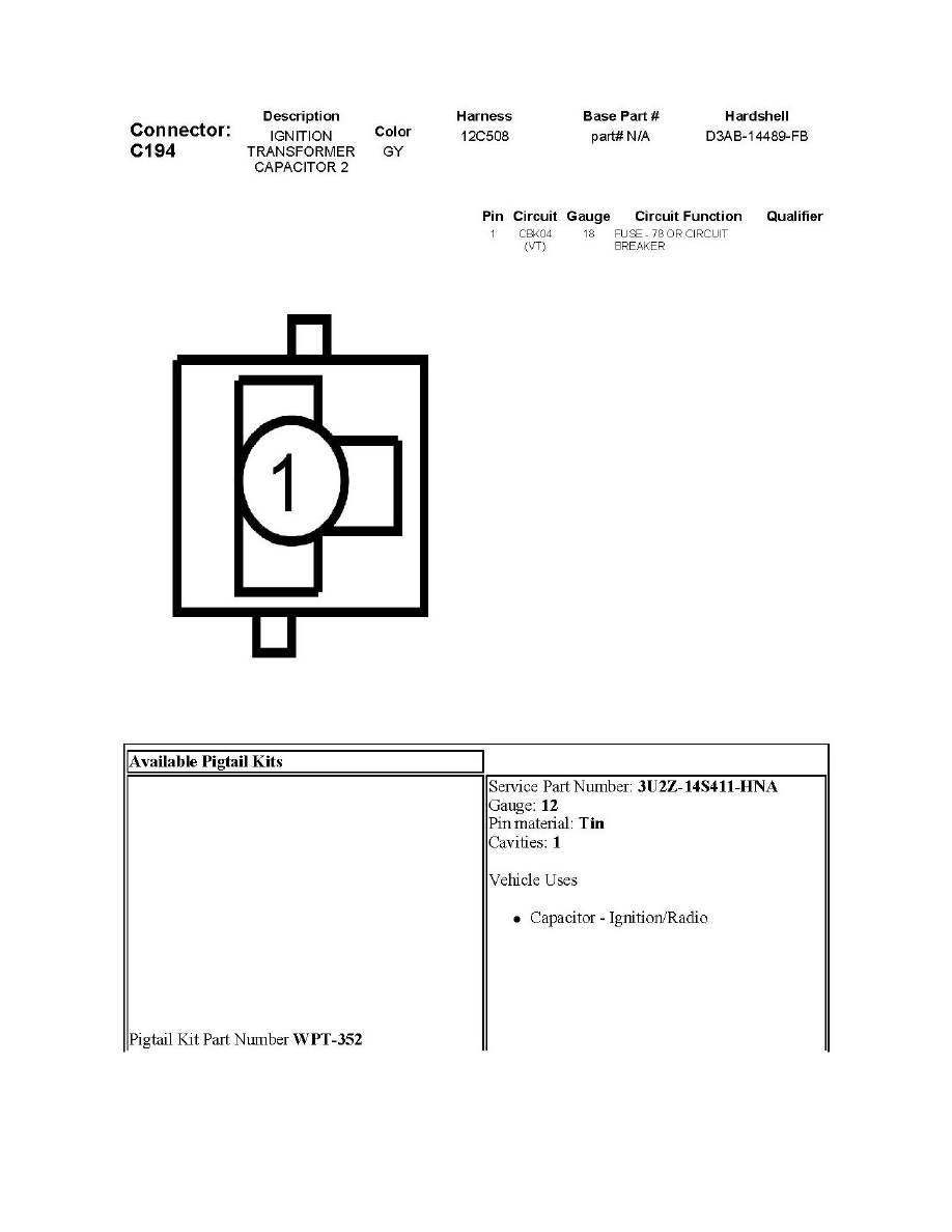 Ford Electronic Ignition Wiring Diagram Circuit And /page