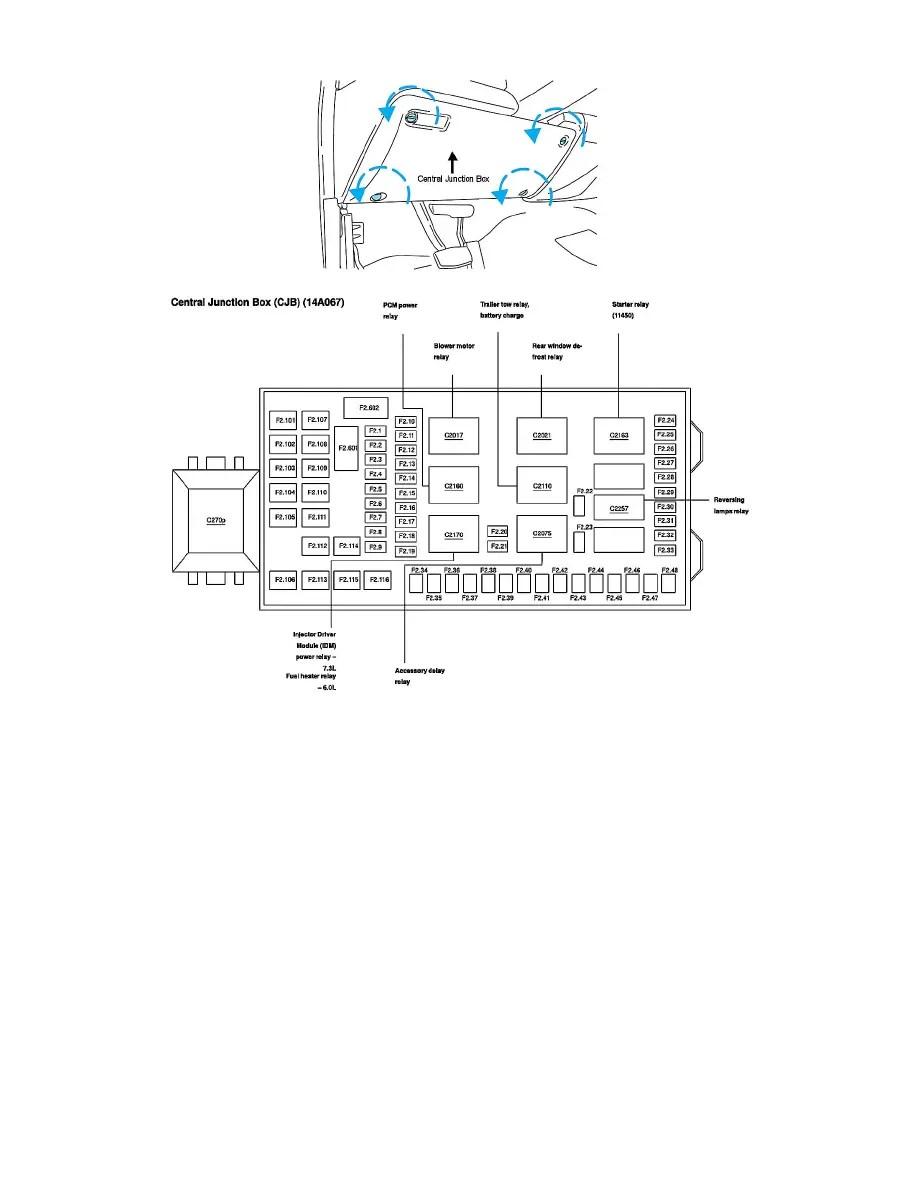 Ford Workshop Manuals > F 350 4WD Super Duty V8-6.0L DSL