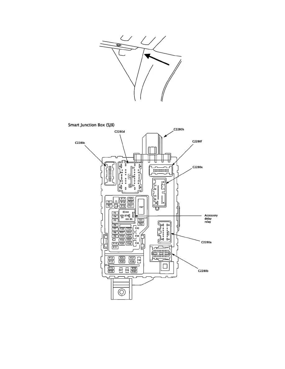 Ford Workshop Manuals > F 450 2WD Super Duty V8-6.4L DSL
